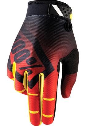 Enduro Eldiveni Marka Motokros Eldiveni Kırmızı Siyah Xl Kırmızı Siyah