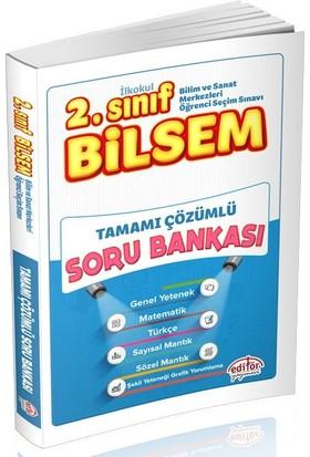 Editör Yayınları 2. Sınıf BİLSEM Tamamı Çözümlü Soru Bankası