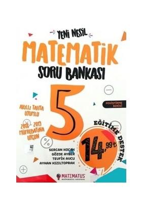 Matematus Yayınları 5.Sınıf Yeni Nesil Matematik Soru Bankası