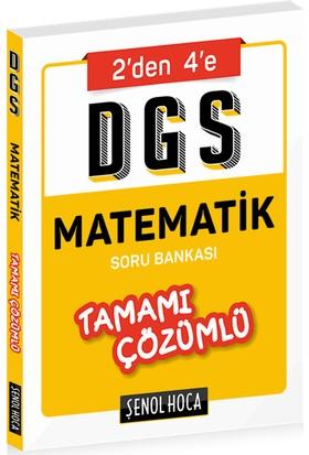 Şenol Hoca Yayınları DGS Matematik Tamamı Çözümlü Soru Bankası