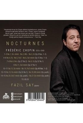 Fazıl Say/Chopın:Nocturner CD