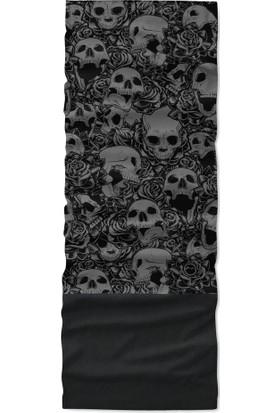 Skulls Black Polar Bandana