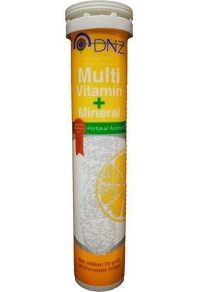 Dnz Multi Vitamin Mineral 20 Efervesan Tablet