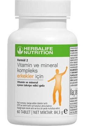 Herbalife Formül 2 Vitamin & Mineral Kompleks Erkekler İçin