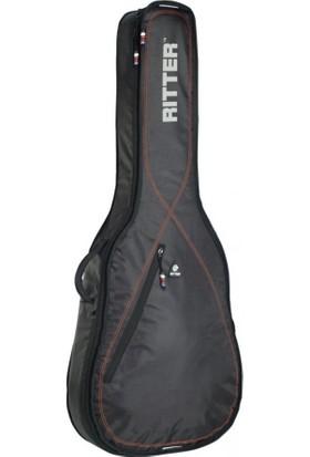 Ritter Rgp2-D-Brd Akustik Gitar Kılıfı Black - Red
