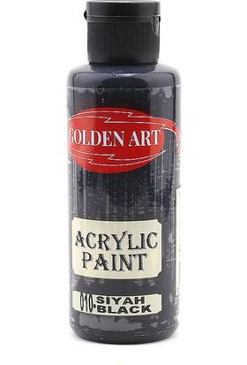 Golden Art Akrilik Boya 130 Cc Siyah 010