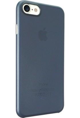 Ozaki O!coat Jelly Apple iPhone 7-8 Ultra İnce Silikon Kılıf Lacivert
