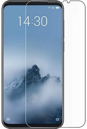 Case 4U Meizu 16X Cam Ekran Koruyucu - Blue Nano