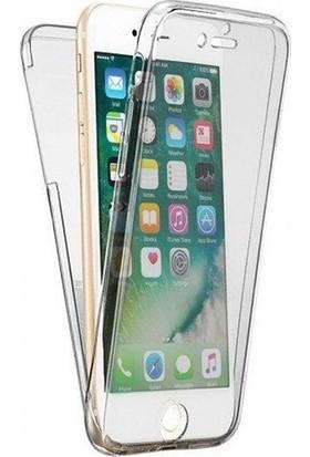 Case 4U Apple iPhone 6/6S Kılıf Ön Arka Şeffaf Silikon Koruma