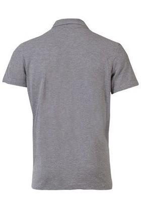 Lig Polo Kamp T-Shirt Gri