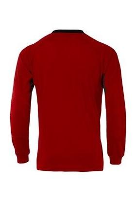 Lig Simo Kaleci Kazağı Forması Kırmızı-Siyah
