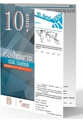 Benim Hocam Yayınları 10. Sınıf Coğrafya Çek Kopar Yaprak Test