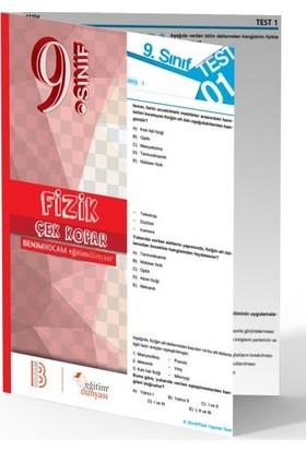 Benim Hocam Yayınları 9. Sınıf Fizik Çek Kopar Yaprak Test