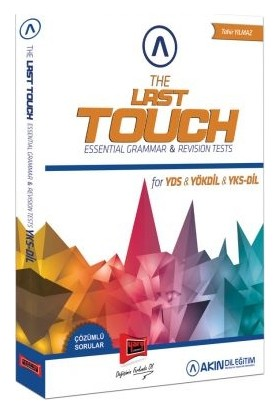 Akın Dil & Yargı Yayınevi The Last Touch Essential Grammar & Revision Tests