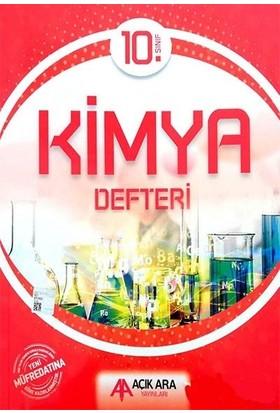 Açık Ara Yayınları 10. Sınıf Kimya Defteri