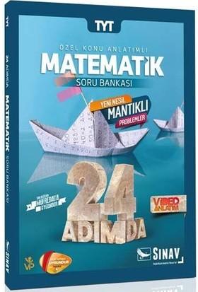 Sınav TYT Matematik 24 Adımda Özel Konu Anlatımlı Soru Bankası