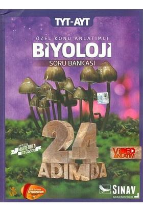 Sınav Yayınları TYT AYT Biyoloji 24 Adımda Özel Konu Anlatımlı Soru Bankası
