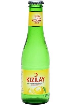 Kızılay Limonlu Maden Suyu 200 ml 24'lü Paket