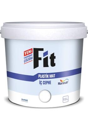 Marshall Fit Plastik Su Bazlı İç Cephe Duvar Boyası 15Lt=20Kg+Marshall Tavan Boyası 6Lt=10Kg