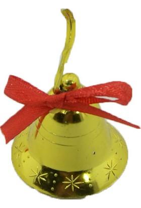 Cansüs 12li Çan Yılbaşı Ağacı Süsü Gold