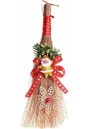 Cansüs Noel Temalı Çalı Süpürge Yılbaşı Süsü