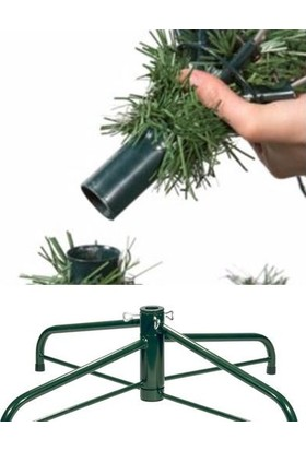 Cansüs 210 cm Yılbaşı Yapay Çam Ağacı
