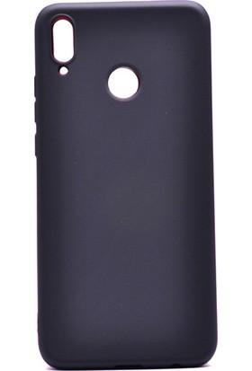 KNY Honor 8X Kılıf Ultra İnce Mat Silikon + Nano Cam Ekran Koruyucu