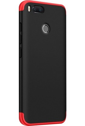 Arabulalaca Xiaomi Mi A1 / 5X Kılıf 360 Derece Koruyucu Kapak Ays İnce Fit