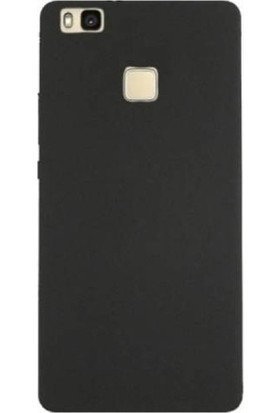 Kılıfist Huawei P9 Lite 2016 Kılıf Mat Silikon Kılıf Slim Fit Simple Case Siyah