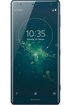 Dafoni Sony Xperia XZ2 Tempered Glass Premium Cam Ekran Koruyucu