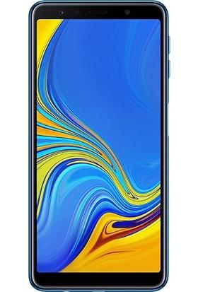 Eiroo Samsung Galaxy A7 2018 Tempered Glass Cam Ekran Koruyucu