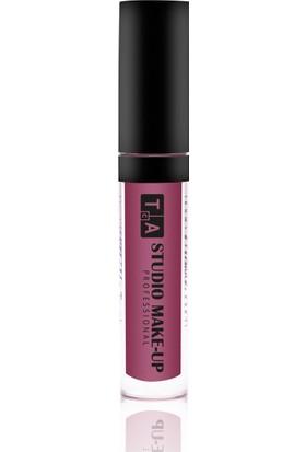 Tca Studio Make-Up Liquid Matte Lipgloss 03 Bordo