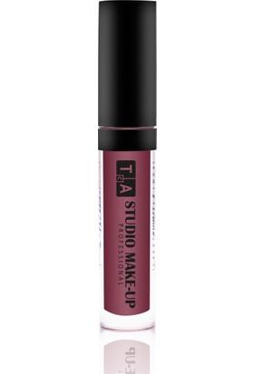 Tca Studio Make-Up Liquid Matte Lipgloss 04 Bordo