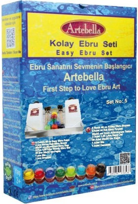 Artebella Kolay Ebru Seti No-5