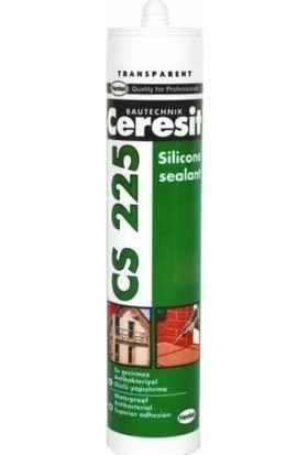 Ceresit Cs 225 Şeffaf Silikon 280 Ml
