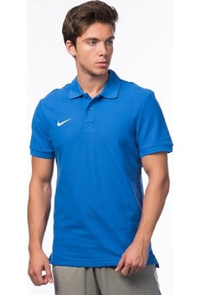 Nike Py T-Shirt Cotton Mavi - S