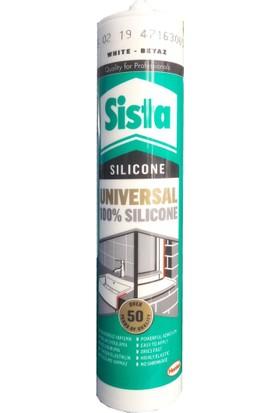 Henkel Sista Üniversal Beyaz Silikon 310 Ml