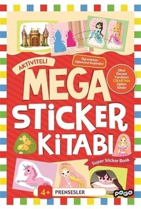 Mega Sticker - Prensesler