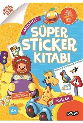 Süper Sticker - Kuşlar