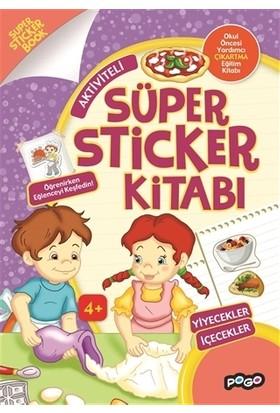 Süper Sticker - Yiyecekler İçecekler