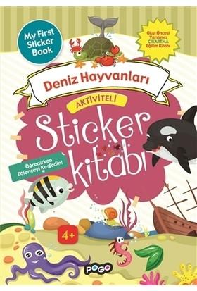 Aktiviteli Sticker Kitabı - Deniz Hayvanları