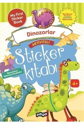 Aktiviteli Sticker Kitabı - Dinazorlar
