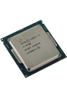 Intel Core İ7 6700 Quad Core 3.40 Ghz 8Mb Turbo Vga 1151P Skylake (Tray)