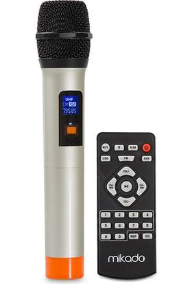 Mikado Md-301Kp 60W Uhf Siyah Mikrofonlu Sd+Fm Mp3 Destekli Karaoke Bluetooth Toplantı-Konser Anfisi