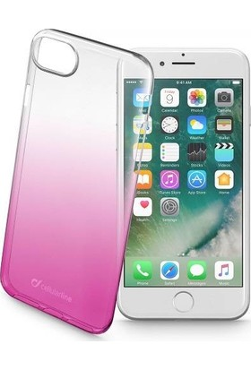 Cellularline iPhone 7/8 Shadow Degrade Kılıf - Pembe