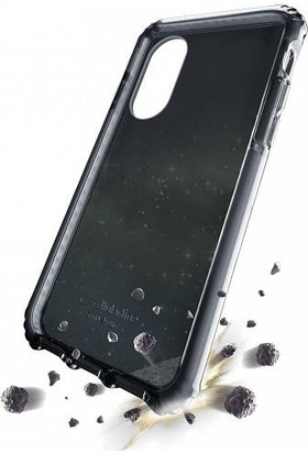 Cellularline iPhone X/XS Tetra Force Kılıf - Siyah