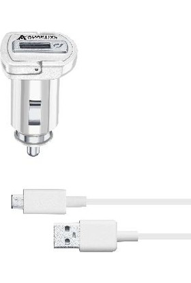 Cellularline Micro USB Araç Şarjı 15W (Kablo+Adaptör)