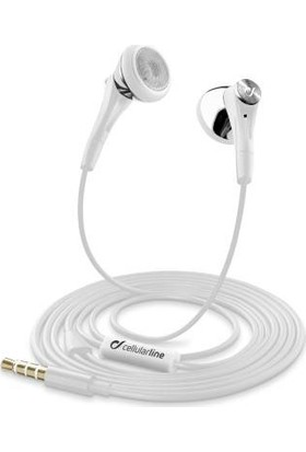 Cellularline Firefly Mikrofonlu Kulaklık - Beyaz