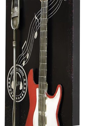 Evim Tatlı Evim Metal 3D Rock Tablo 90 cm