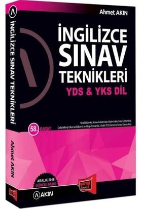 Akın Dil & Yargı Yayınevi YDS & YKS DİL İngilizce Sınav Teknikleri